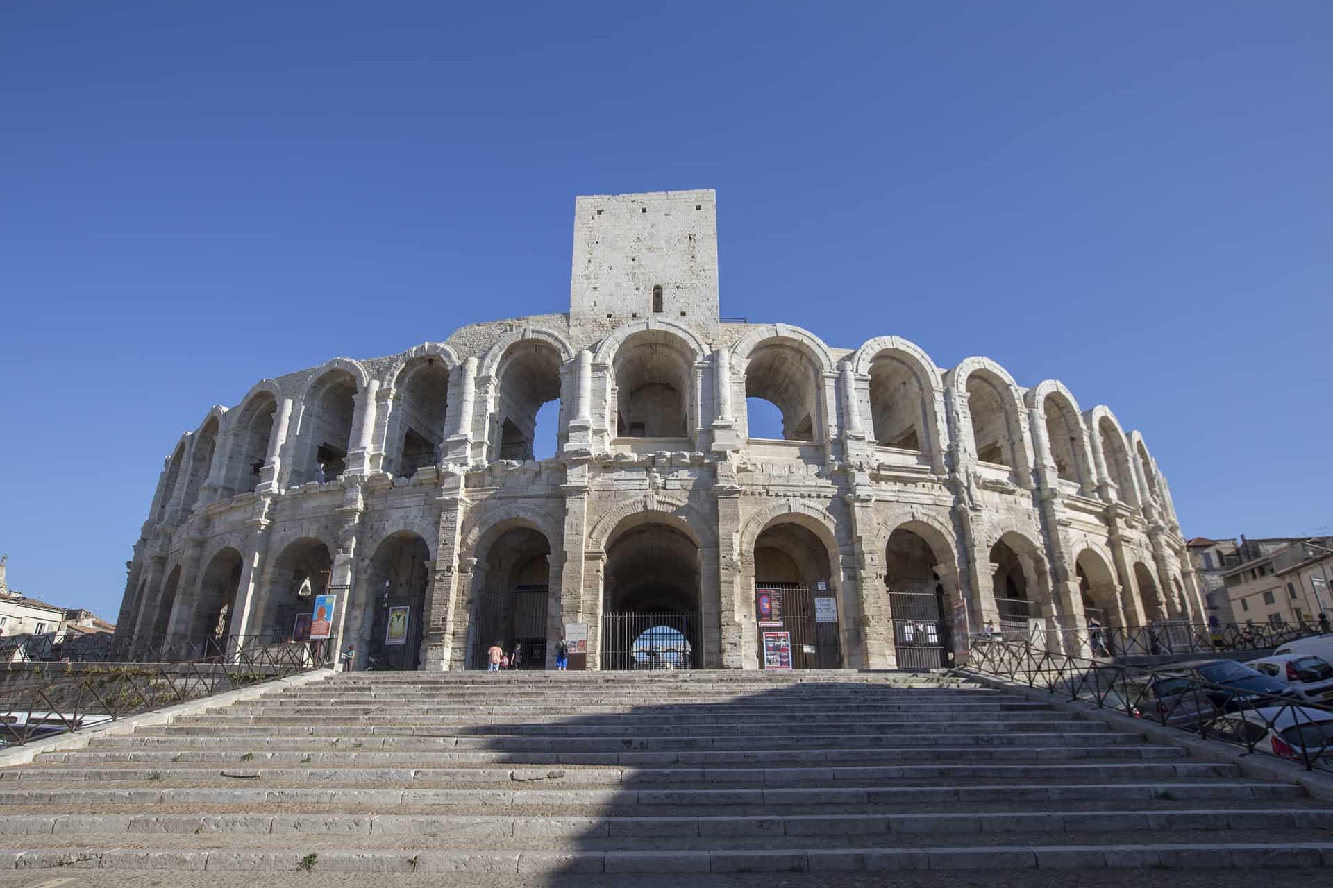אמפיתיאטרון רומי ב-Arles